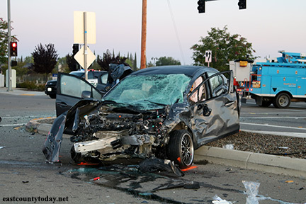 Fatal Oakley Crash