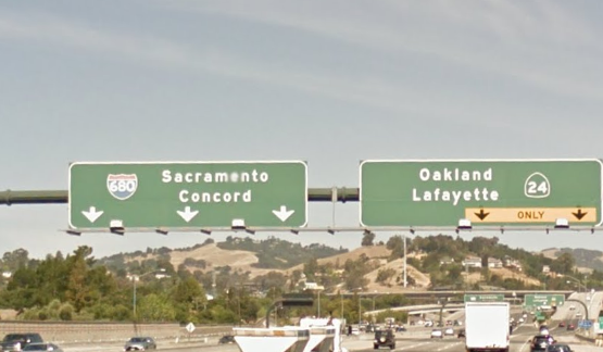 Oakland Woman Succumbs to Injuries from I-680/Hwy 24 Crash