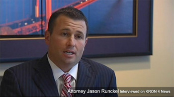 Jason Runckel on KRON 4 News