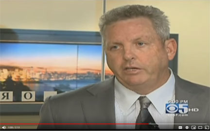 Attorney Dan O'Malley on CBS 5 News